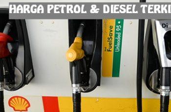 Harga Petrol Kekal Manakala Diesel Turun Bermula 23 Ogos 2017